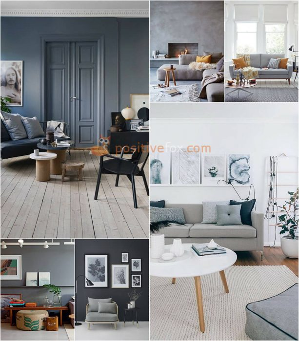 Interior Design Color Schemes. Interior design trends 2017-2018. Grey Interior Colour Schemes