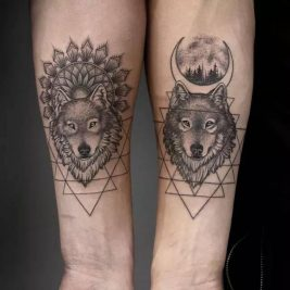Wolf Tattoo Ideas - Wolf Tattoos Meaning