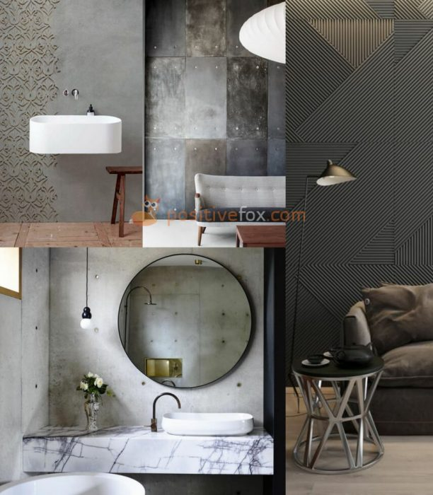 Interior Design Trends 2017-2018. Textures and Patterns in Interior Design