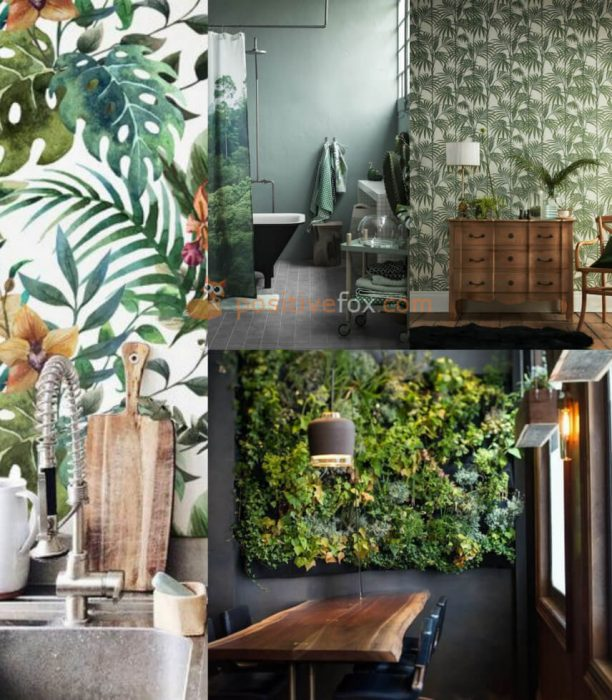 Interior Design Trends 2017-2018 Tropical interior Design