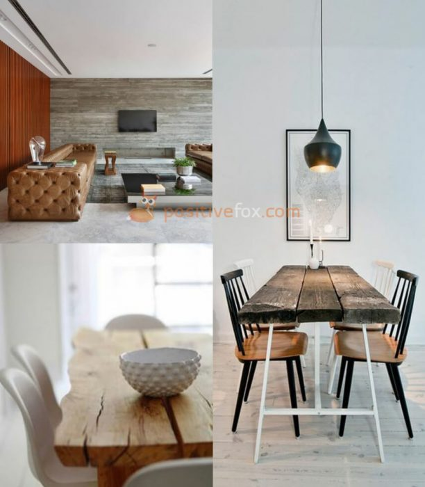 Interior Design Trends 2017-2018 Wood Interior Design
