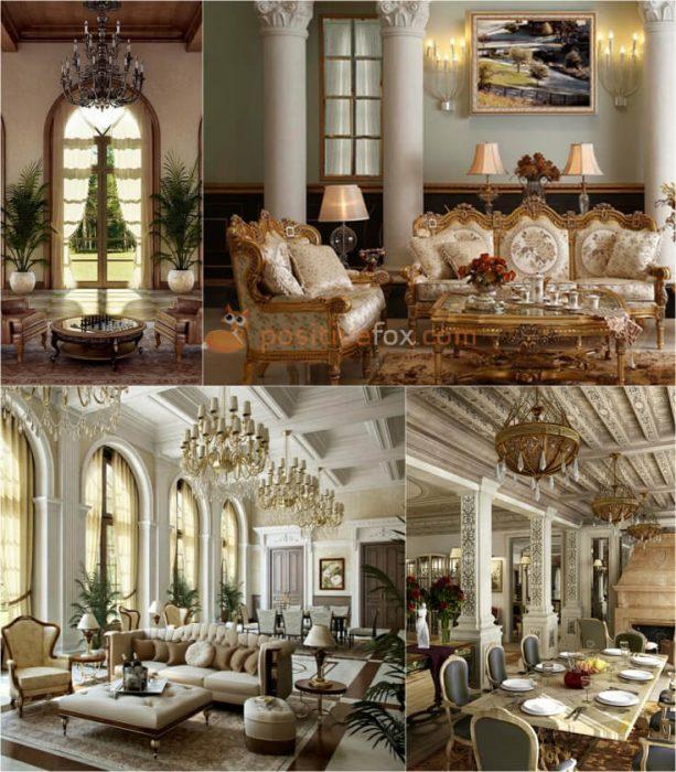 Classic Living Room Interior Design ...