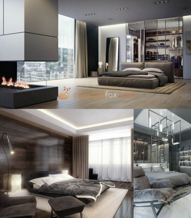 High Tech Bedroom Interior Design Ideas