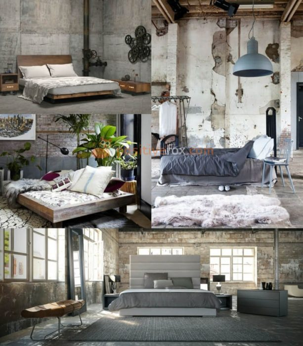 Loft Interior Design Ideas. Loft Bedroom Interior Design.