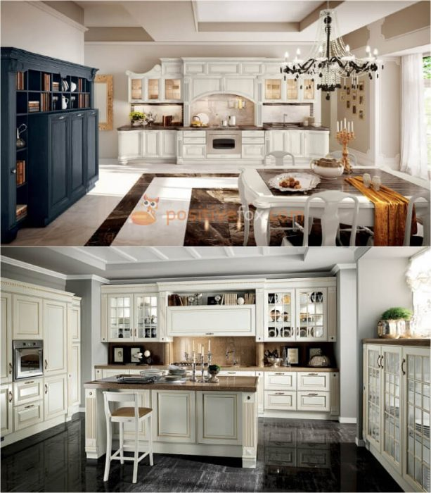 Classic Kitchen Interior Design