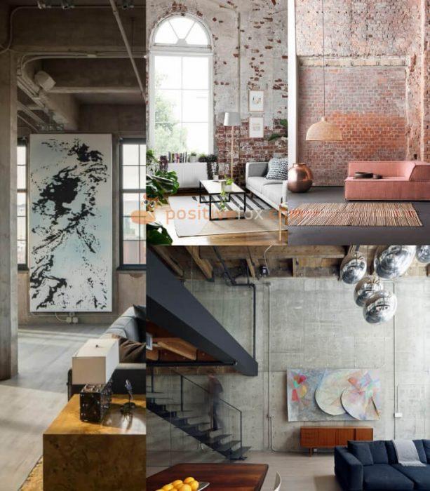 Loft Interior Design Ideas. Loft Living Room Interior Design.