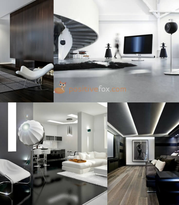 High Tech Interior Design Living Room