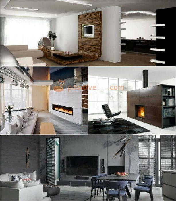 High Tech Interior Design Living Room