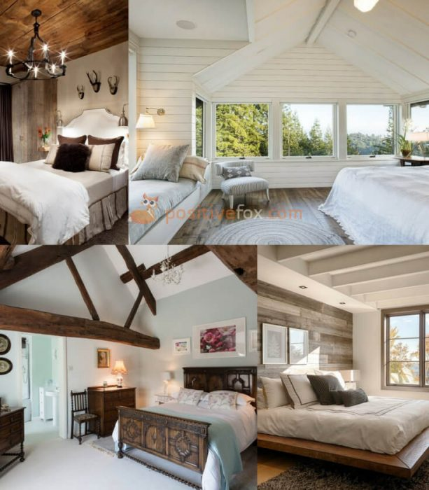 Country Style Bedroom Interior Design