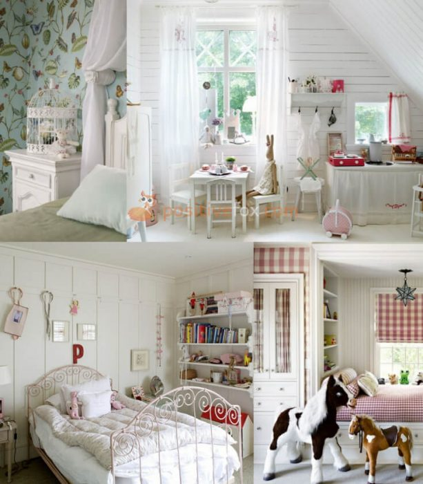 Provence Kids Room Design. Provence Interior Design Ideas
