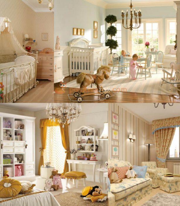 Provence Kids Rooms Interior Design. Nursery Design Ideas