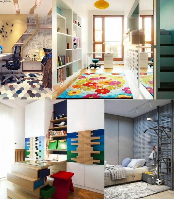 High Tech Kids Rooms Interior Design. Nursery Design Ideas