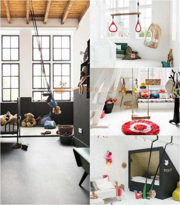 Loft Interior Design Ideas. Loft Kids Rooms Interior Design.