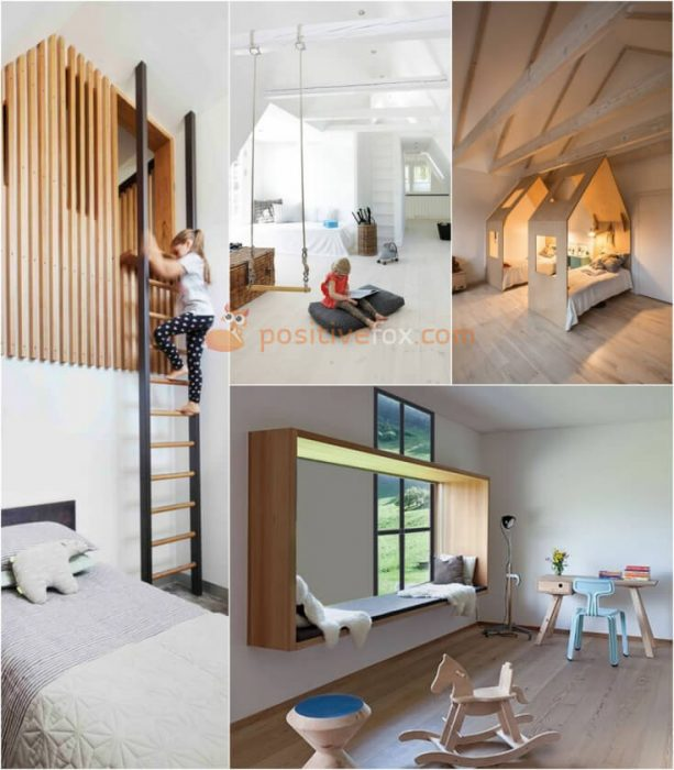 Kids Bedroom Loft. Loft Design Ideas. Loft Interior Design