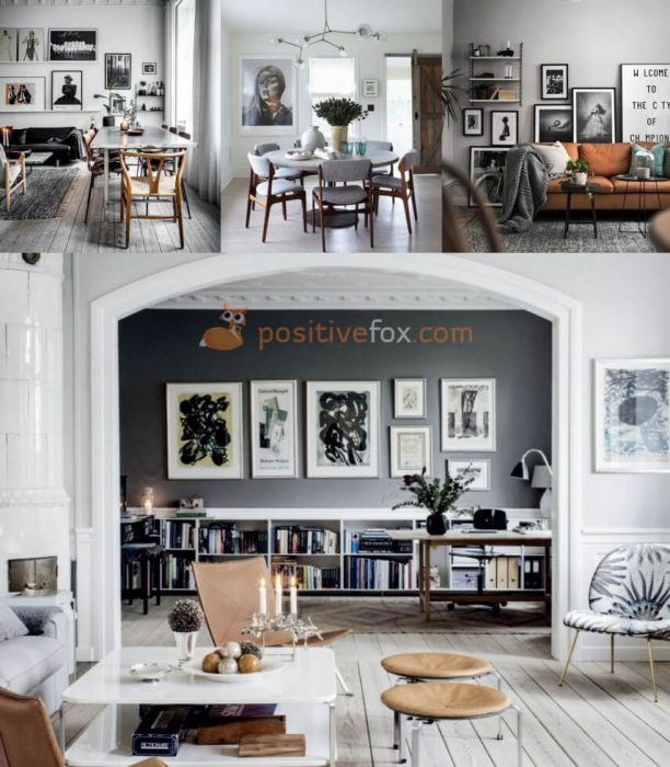 Scandinavian Living Room Design. Nordic Design Ideas