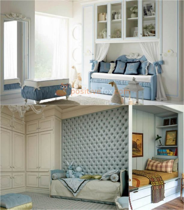 Classic Kids Rooms Interior Design. Nursery Design Ideas