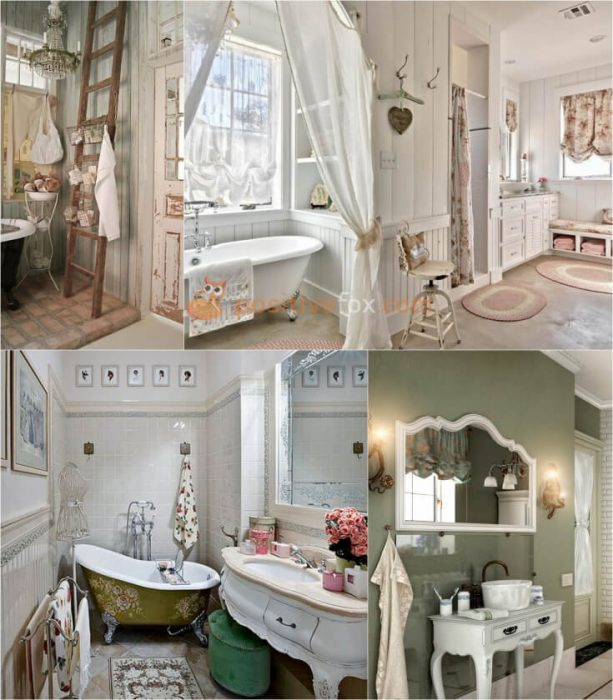 Provence Bathroom Interior Design Ideas