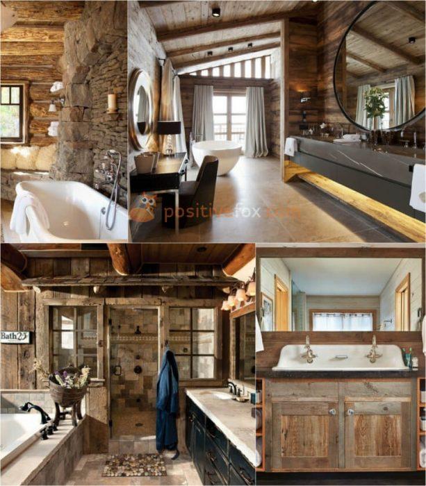 Country Style Bathroom Interior Design