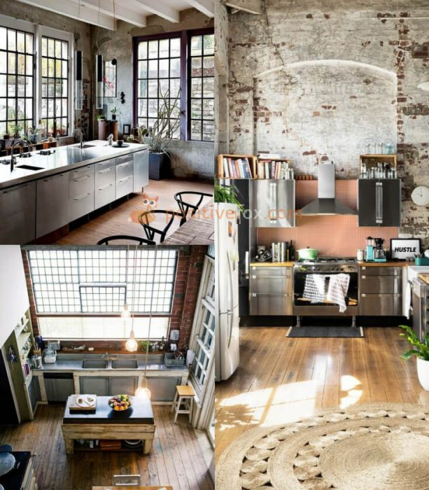 Loft Kitchen Ideas. Loft Design Ideas. Loft Interior Design