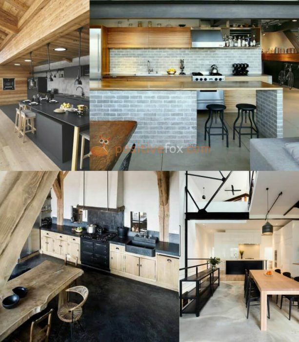 Loft Interior Design Ideas. Loft Kitchen Interior Design.