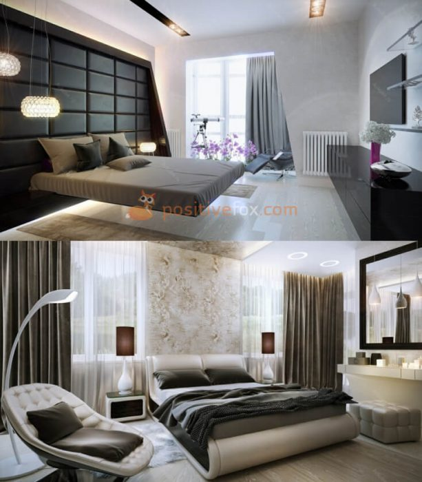 High Tech Interior Design for Small Bedroom Design