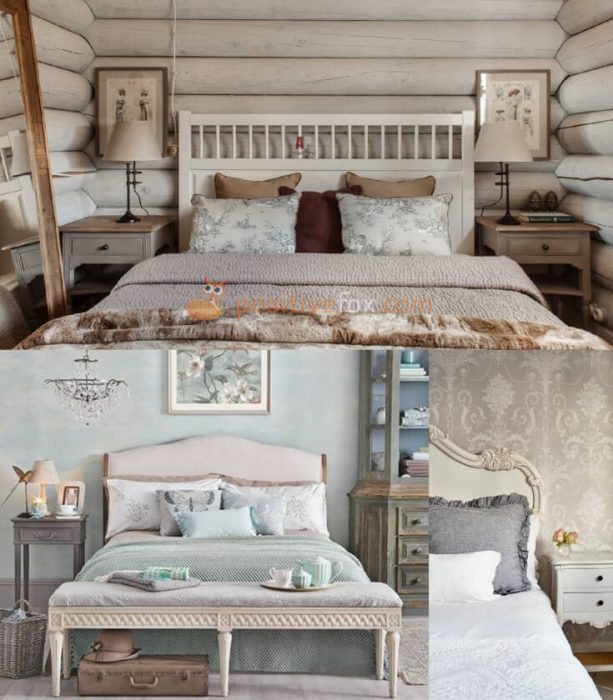 Provence Interior Design for Small Bedroom Design