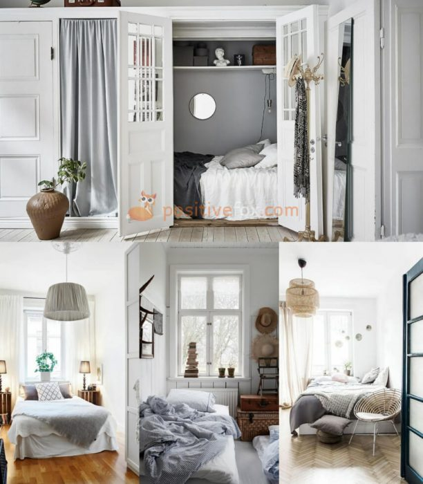 Scandinavian Bedroom. Scandinavian Interior Design Ideas