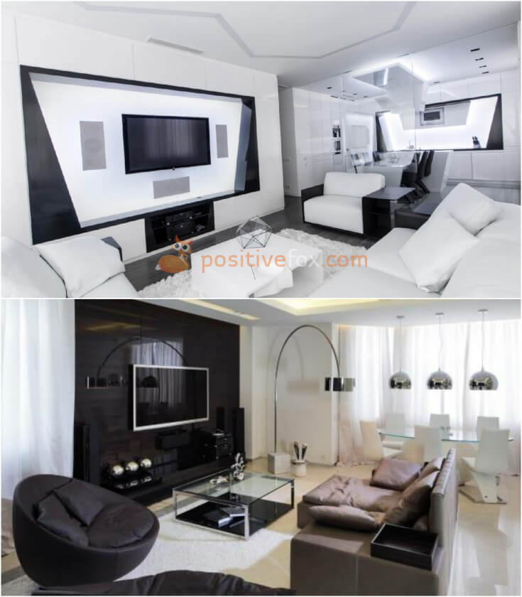 High Tech Living Room. High Tech Interior Design Ideas