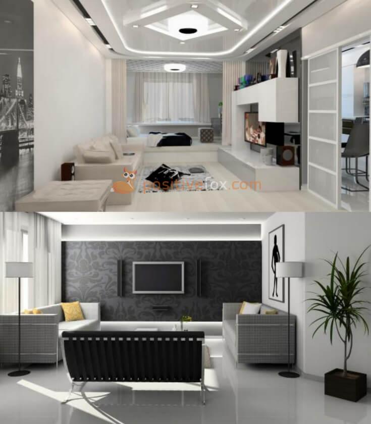 High Tech Interior Design Ideas for Small Living Room