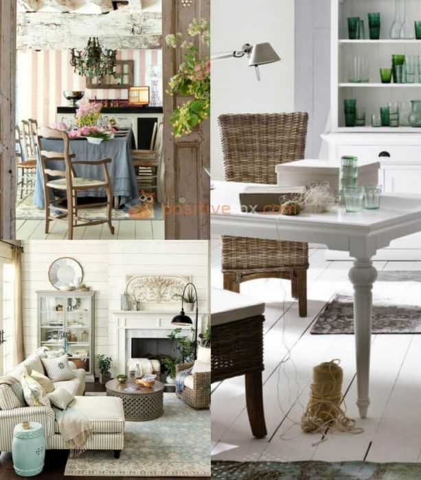 Provence Interior Design for Small Living Room