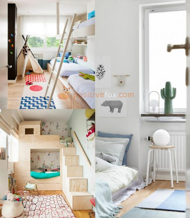 Small Spaces Scandinavian Kids Rooms. Nordic Design Ideas With Best Examples.