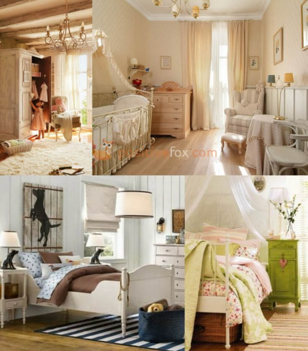 Provence Kids Room. Provence Interior Design Ideas