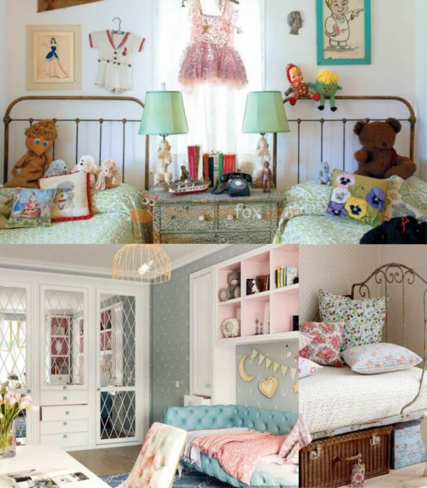 Provence Interior Design for Small Kids Rooms. Nursery Design Ideas