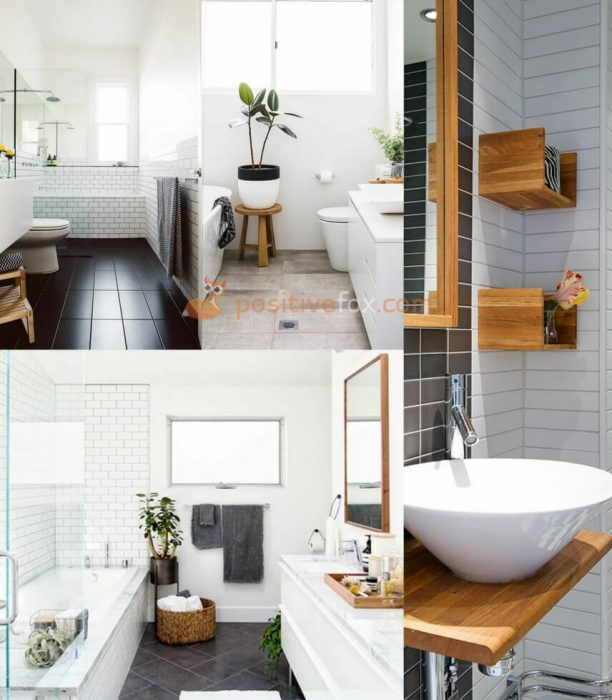 Small Spaces Scandinavian Bathroom. Nordic Design Ideas With Best Examples.