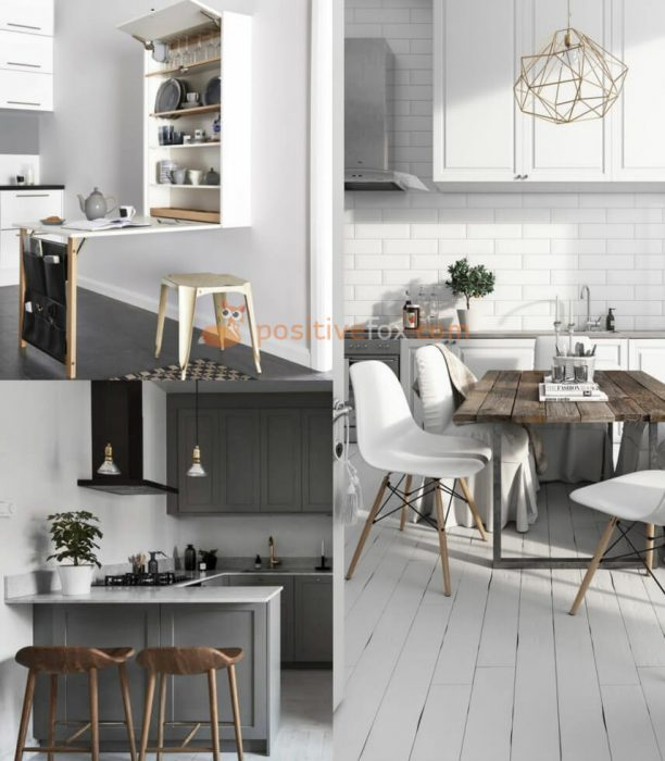 Small Spaces Scandinavian Kitchen. Nordic Design Ideas With Best Examples.