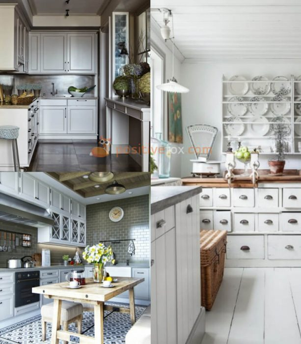 Provence Interior Design for Small Kitchen
