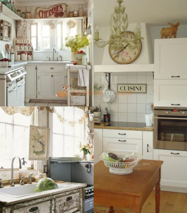 Country Interior Design for Small Kitchen