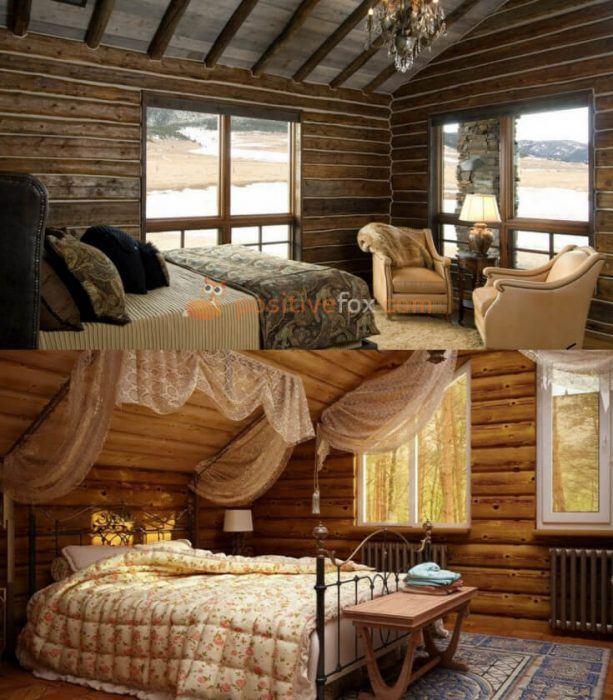 Country Interior Design for Small Bedroom