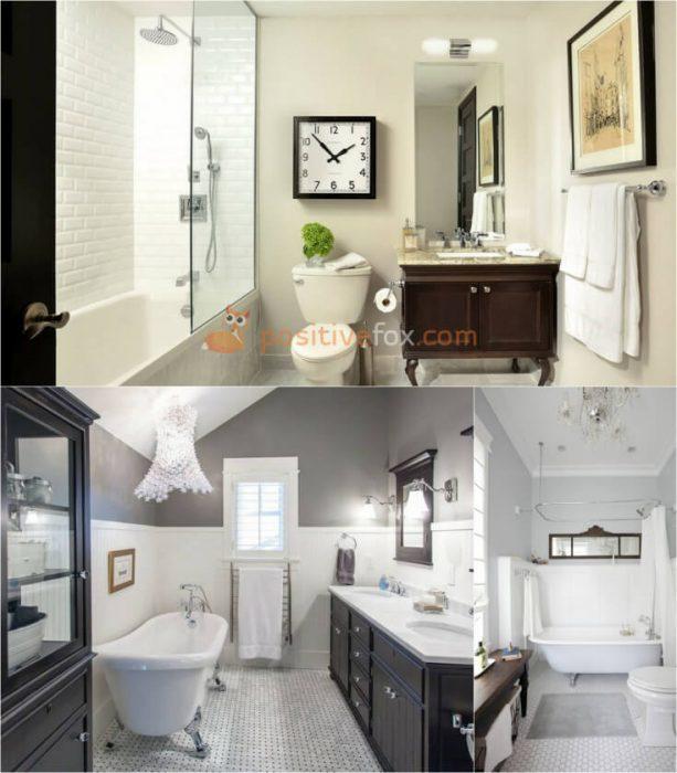 Classic Interior Design for Small Bathroom