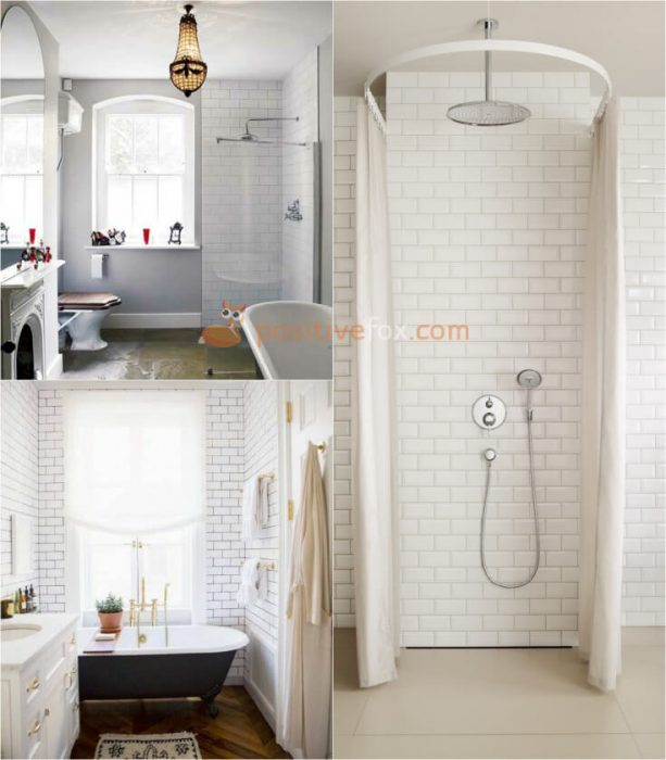 Classic Interior Design for Small Bathroom
