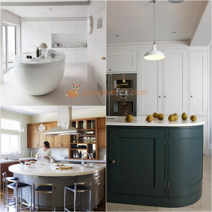 semi circle island kitchen kitchen island ideas best kitchen island ideas with photos 5130