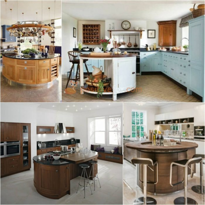 Circle Kitchen Island. Kitchen Island Ideas