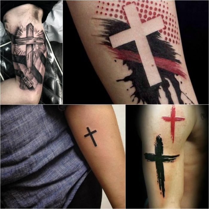 Cross Tattoos. Cross Tattoo Designs. Catholic Cross Tattoo