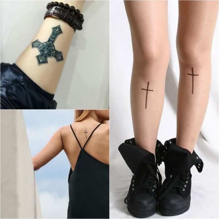 Cross Tattoos. Cross Tattoo Designs. Cross Tattoos for Women