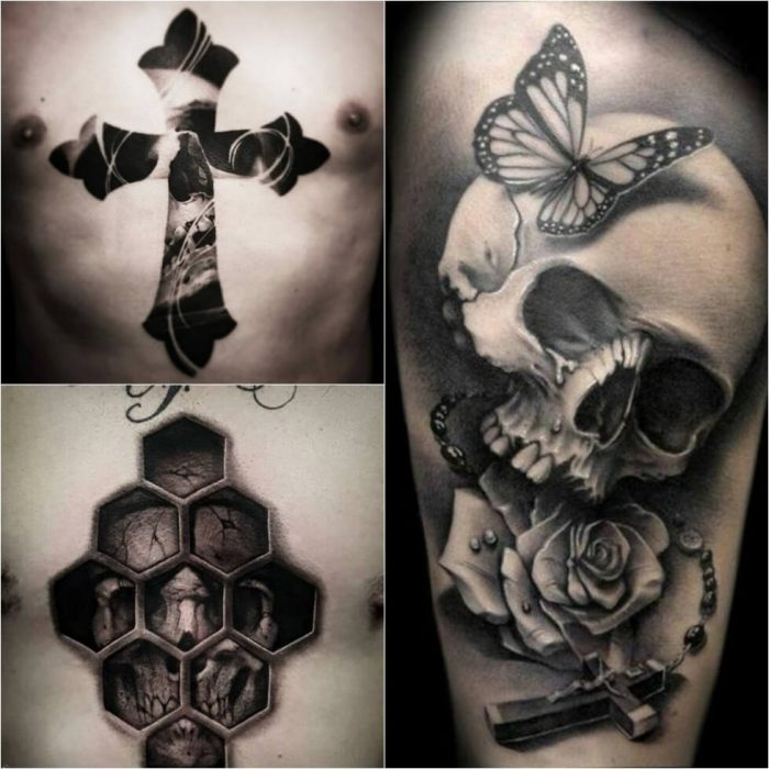 Cross tattoos meaningful cross tattoo ideas for everyone for Skull and crossbones tattoo