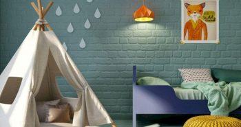 Kids Room Interior Design. Nursery Ideas