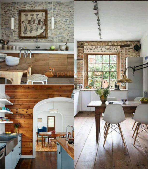 Kitchen Brick Wall. Kitchen Wall Decor and Kitchen Wall Ideas