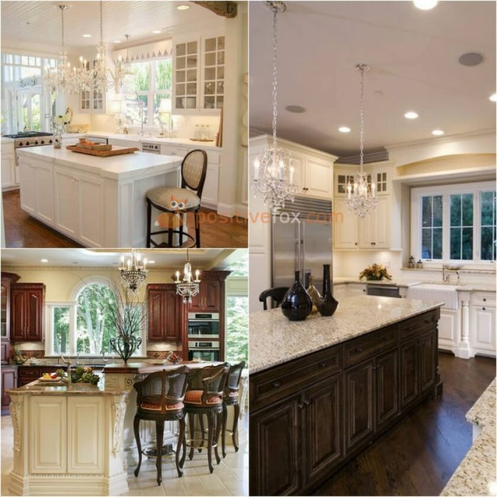 Kitchen Island Design. Classic Kitchen Island
