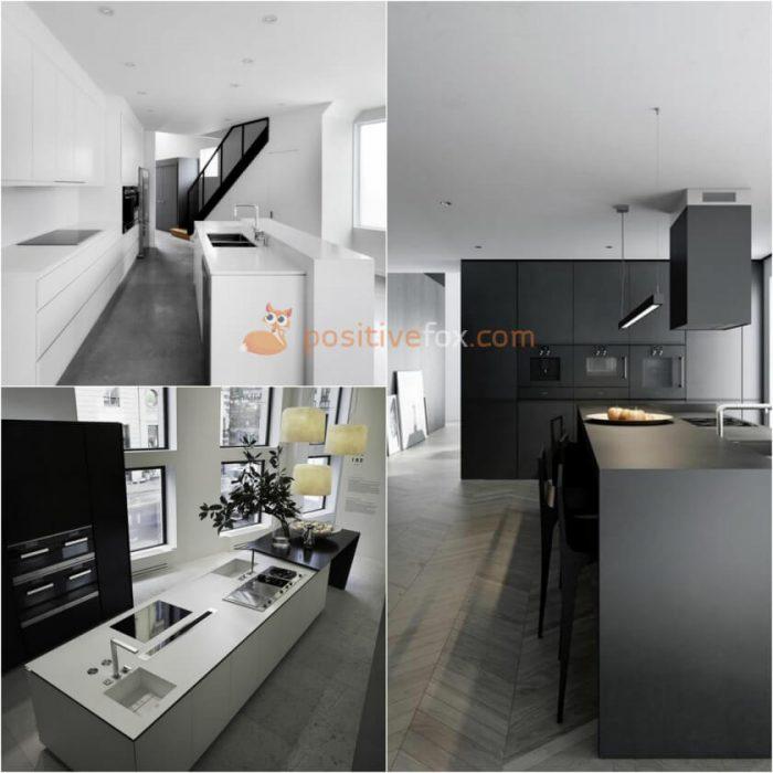 Kitchen Island Design. High Tech Kitchen Island