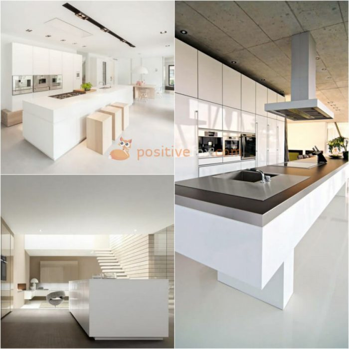 Kitchen Island Design. High Tech Kitchen Island